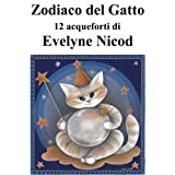 Zodiaco del gatto in 12 acqueforti