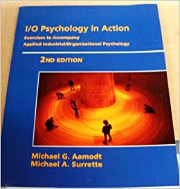 industrial organizational psychology aamodt pdf