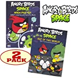 Angry Birds® Space Coloring and Activity Book Set (2 Coloring Books)