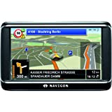 NAVIGON 40 Plus Navigationssystem (10,9cm (4,3 Zoll) Display, Europa 43, TMC, One Click Menu, Aktiver Fahrspurassistent, TTS)von &#34;Navigon AG&#34;