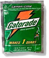 Gatorade 2.12 oz. packet (makes 1 Qt) - Lemon Lime - 24/pack