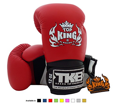 top-king-muay-thai-boxe-guanti-super-air-tkbgsa-dimensioni-8-10-12-14-e-16-once-colore-nero-bianco-r
