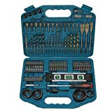 Makita p-67832 101 Piece accessory kit in plastic case Impact Drill Driver Bit Set (Color: green)