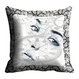 Lali Prints Face Digitally Printed Cushion Cover
