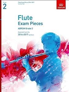 ABRSM Flute Exam Pieces 2014 -2017 Grade 2 Flute & Piano
