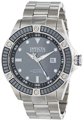 Invicta Men's 10613 Pro Diver Analog Display Swiss Automatic Silver Watch