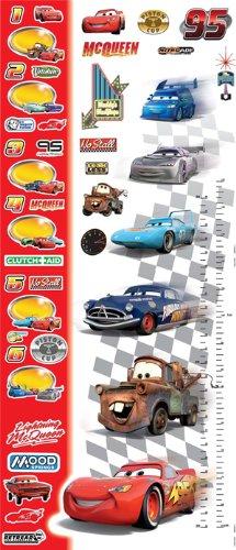 Disney Lightning McQueen Cars Growth Chart Sticker