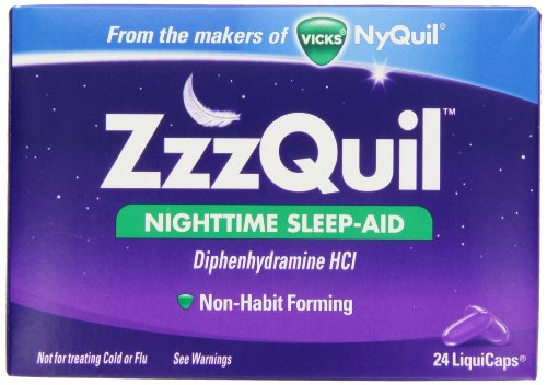 ZzzQuil Nighttime Sleep-Aid Liquicaps 24 Count (323900013995)