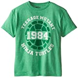 T-Shirtnage Mutant Ninja Turtles Big Boys' 1894 T-Shirt Shirt, Kelly Heather, Large/  14/16