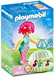 Playmobil - 4813 - Figurine - Sirène avec Bébés Hippocampes