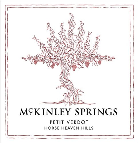 2010 Mckinley Springs Horse Heaven Hills Estate Petit Verdot 750 Ml