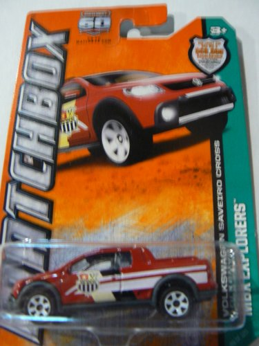Matchbox Mbx Explorers Volkswagen Saveiro Cross - 1