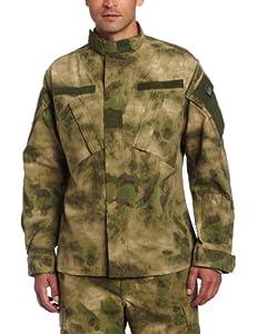 Propper Men's Army Combat Uniform (ACU) Coat, A-TACS FG Camo, Small Long