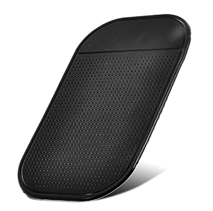Get best deal for Magic Sticky Anti-Slip Anti-shake Car Pad for Cell Phone (Black) at Compare Hatke