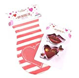 Valentine's Day Cookie Cutter Gift Bag Bundle - 2 Valentine's Themed Cookie Cutters, 15 Heart Themed Gift Bags