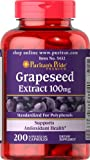 Puritans Pride Grapeseed Extract 100 mg-200 Capsules