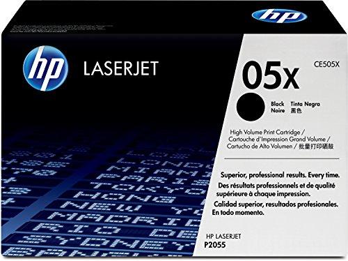 HP 05X (CE505X) Black High Yield Original Laserjet Toner