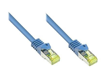 Câble réseau RJ45 CAT 7 S/FTP Good Connections - [1x RJ45 mâle - 1x RJ45 mâle] - 15.00 m -
