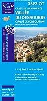 Vallée du Dessoubre / Cirque de Consolation / Montagnes du Lomont 3523 OT par Institut géographique national
