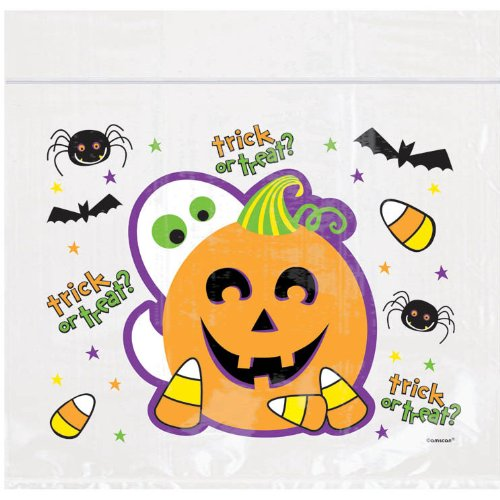 Bag Resealable Lrg Spooktacula