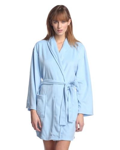 Aegean Apparel Women's Solid Minky Robe