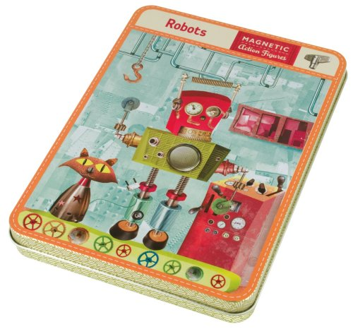 Mudpuppy Robots Magnetic Figures