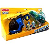 Imaginext DC Super Friends Exclusive 2Pack BATCOPTER MR. FREEZE JET