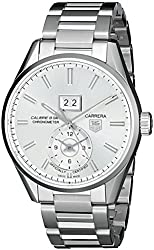 TAG Heuer Men's THWAR5011BA0723 Carrera Analog Display Swiss Automatic Silver Watch