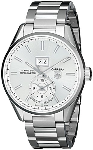 TAG-Heuer-Mens-THWAR5011BA0723-Carrera-Analog-Display-Swiss-Automatic-Silver-Watch