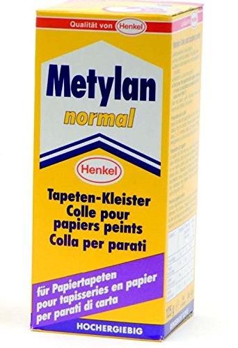 Metylan 11210 Adesivo in Polvere a Base di Carbossimetilcellulosa, Bianco, 125 gr
