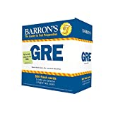 img - for Barron's GRE Flash Cards, 3rd Edition: 500 Flash Cards to Help You Achieve a Higher Score book / textbook / text book