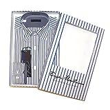 Enzo Mantovani Men's Long Sleeve 100% Cotton Dress Shirt (Small, 14-14.5)
