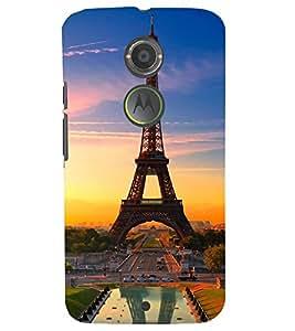 TOUCHNER (TN) Royal Eifil Back Case Cover for Motorola Moto X2::Motorola Moto X (2nd Gen)