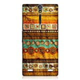 Head Case Designs Blasted Textured Retro Design Back Case Cover for Sony Xperia S LT26i