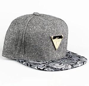 Amazon.com : Hater Chambray Paisley Snapback Hat : Sports Fan Baseball