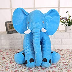 KiKi Monkey Cute Animal Elephant Pillow Support Throw Pillow Cushion Stuffed Plush Soft Toy Doll Great Gift for Kids Baby Infant