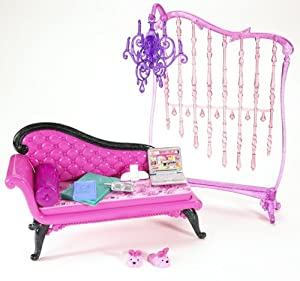 barbie my house basic furniture barbie glam daybed toys
