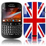 Shop4 Union Jack Print Hard Back Cover Case Skin for BlackBerry 9900 Bold Touch Mobile Phone