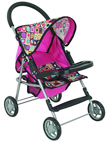 New First Doll Stroller Super front