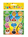12 PACKS WILD ANIMALS STICKERS PARTY...