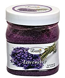 Luster Lavender Face & Body Gel Scrub - 500ml