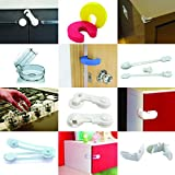 Tot-Blox-Baby-Proofing-Kit-Complete-Home-Protection-Cupboard-Locks-Socket-Covers-Corner-Protectors-Toilet-Locks-Door-Stopper-Oven-Covers-Tot-Blox-18-Piece-Baby-Safety-Set