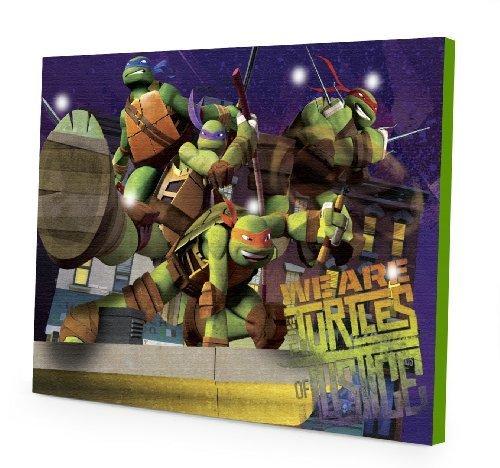 Nickelodeon Teenage Mutant Ninja Turtles Led Light Up Canvas Wall Art