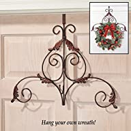 Metal Scroll Wreath Hanger