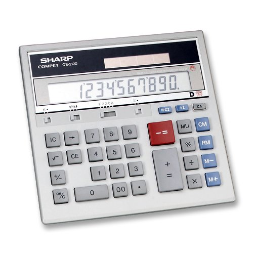 Sharp QS-2130 Twin Powered Display 12 Digit (Commercial Adding Machine compare prices)