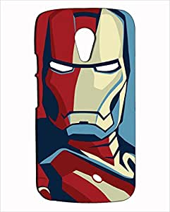 Inkspired Iron Man Cover for Moto G (2nd Generation)