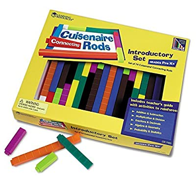 2 X Learning Resources Cuisenaire Rods Introductory Set: Connecting