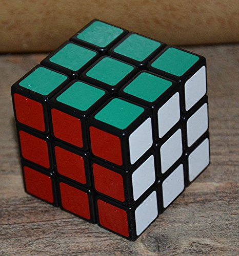 GoodPlay New 46mm Mini 3x3x3 ShengShou LingLong Speed Puzzle Cube Smooth Magic cube Toy Black - 1