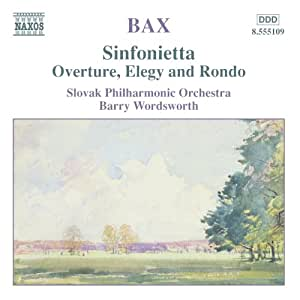 Overture Elegy and Rondo/Sinf