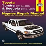 img - for Toyota Tundra & Sequoia: Tundra (2007 thru 2012) & Sequoia (2008 thru 2012) All 2WD and 4WD models (Haynes Manuals) book / textbook / text book